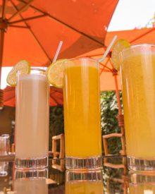 Wyciskane soki z owoców i warzyw