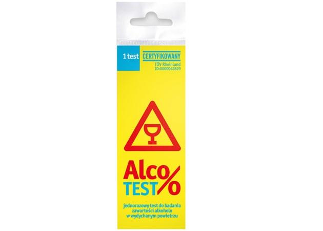 Test na alkohol AlcoTEST